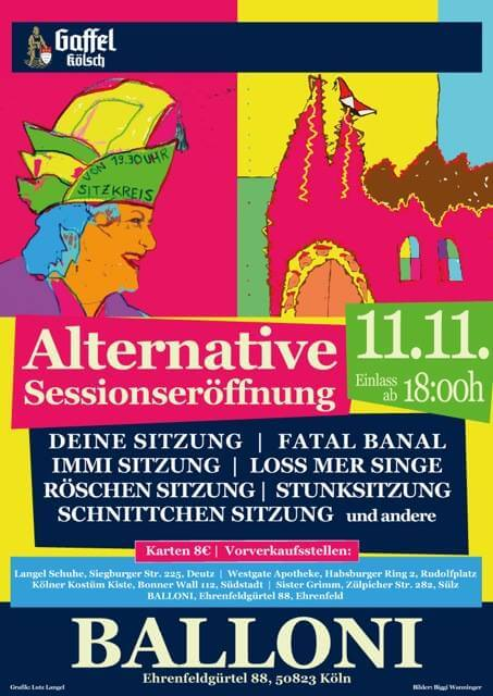 Alternative Sessionseröffnung 2016