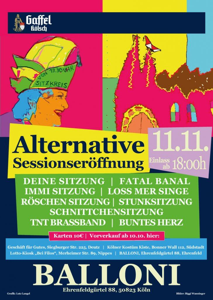 Alternative Sessionseröffnung 11.11.2017